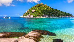 Beautiful Paradise Tropical Island Stock Photography
