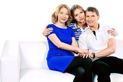 Beautiful parents Royalty Free Stock Photography