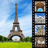 Beautiful Paris Royalty Free Stock Photography