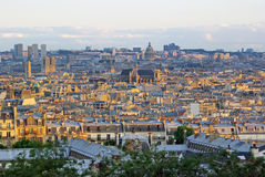 Beautiful Paris up view Royalty Free Stock Images