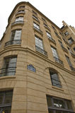 Beautiful Parisian Building Stock Photography