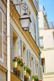 Beautiful Parisian street Stock Photo