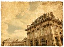 Beautiful Parisian streets Stock Photography
