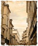 Beautiful Parisian streets Stock Images