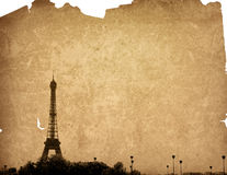 Beautiful Parisian streets Royalty Free Stock Image