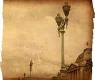 Beautiful Parisian streets Royalty Free Stock Photo