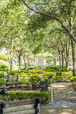 Beautiful Park in Charleston Royalty Free Stock Photography