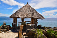 Beautiful park on Crystal cave island Royalty Free Stock Photos