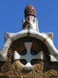 , beautiful park designed by Antoni Gaudi Royalty Free Stock Photos