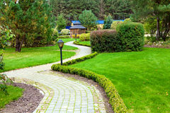 Beautiful park garden Stock Photography