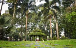 Beautiful Park in Ho Chi Minh city, Vietnam.  Stock Images