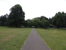 Beautiful park in London city Stock Image