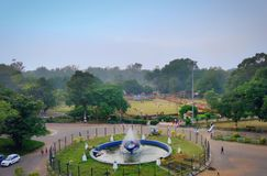 Beautiful Park. This beautiful Maitri Garden situated in the durg district Of state Chhattisgarh stock photo