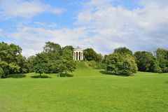 Beautiful park in Munich Stock Images
