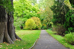 Beautiful Park Pathway Royalty Free Stock Photography