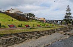 Beautiful park in Ribeira Grande Royalty Free Stock Photography