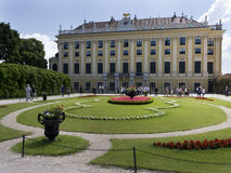 Beautiful park in Schonbrunn Vienna Austria Royalty Free Stock Image