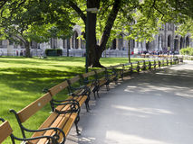 Beautiful park in Vienna Austria Stock Photography