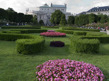 Beautiful park in Vienna Austria Royalty Free Stock Photography