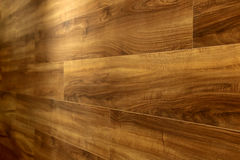 Beautiful parquet hardwood wall texture background.  Royalty Free Stock Images