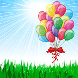 Beautiful Party Balloons Royalty Free Stock Images
