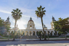The beautiful Pasadena City Hall, Los Angeles, California Royalty Free Stock Image