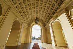 The beautiful Pasadena City Hall, Los Angeles, California. The beautiful afternoon scene of Pasadena City Hall, Los Angeles, California Royalty Free Stock Image