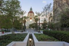 The beautiful Pasadena City Hall. Near Los Angeles, California Royalty Free Stock Photography