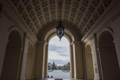 The beautiful Pasadena City Hall. Near Los Angeles, California Royalty Free Stock Photo