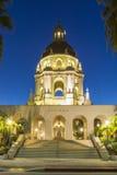 The beautiful Pasadena City Hall near Los Angeles, California Royalty Free Stock Photos