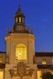 The beautiful Pasadena City Hall near Los Angeles, California. The beautiful night scene of Pasadena City Hall near Los Angeles, California Stock Photos