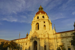 The beautiful Pasadena City Hall near Los Angeles, California Royalty Free Stock Photography
