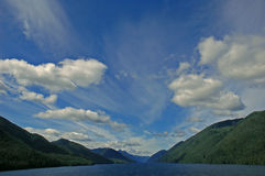 Beautiful Passage. North bound through the Inside Passage to Alaska Royalty Free Stock Photography