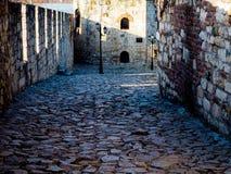Beautiful passage in Belgrade Kalemegdan. Amazing photo passage Kalemegdan in Belgrade Royalty Free Stock Photo