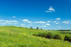Beautiful pastoral  landscape Stock Image