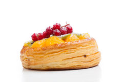 Beautiful pastry cake Stock Photos