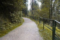 Beautiful path in muree islamabad pakistan Stock Photo