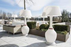 Beautiful patio Hotel Atlantis by Giardino, Zurich Royalty Free Stock Photo