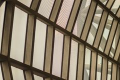 Beautiful pattern of abstract modern architecture building in Su Stock Image