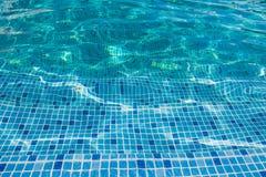 Beautiful pattern of blue water reflecting sun. Stock Photography