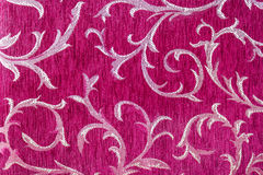 Beautiful pattern on fabric Royalty Free Stock Photography