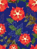 Beautiful pattern floral Stock Photography