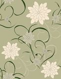 Beautiful pattern floral Royalty Free Stock Photography