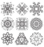 Beautiful pattern flower elements Royalty Free Stock Photo
