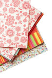 Beautiful pattern on a napkin Stock Images