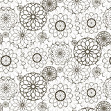 Beautiful pattern. Of the original figures on a white background Royalty Free Stock Photos