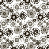 Beautiful pattern. Of the original figures on a white background Royalty Free Stock Photography
