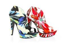 Beautiful pattern shoes Stock Photo