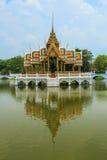 The beautiful pavilion. At Ayutthaya, Thailand Stock Photo