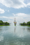 Beautiful pavilion in the park Royalty Free Stock Images